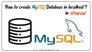 My Sql Database