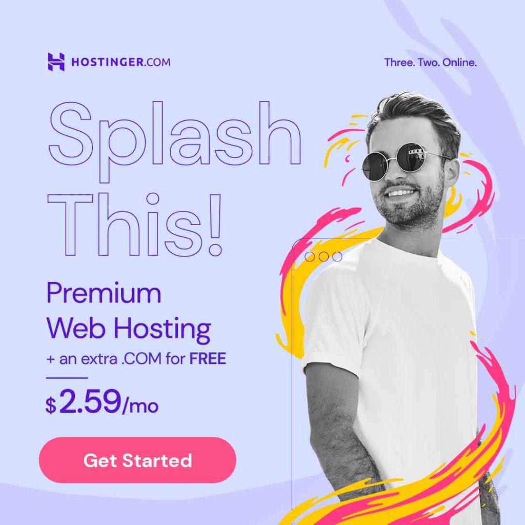 Splash-This-Sale-Hostinger